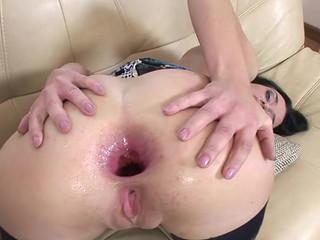 Русская анальная порно модель